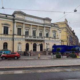 Hiekkapuhallusyksikkö Koivukoski Oy Vanha ja keskustanäkymä