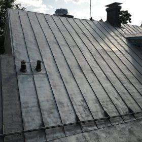 Hiekkapuhallettu katto Hiekkapuhallusyksikkö Koivukoski Oy
